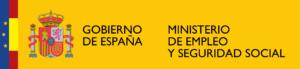 Logotipo ministerio de empleo y seguridad social