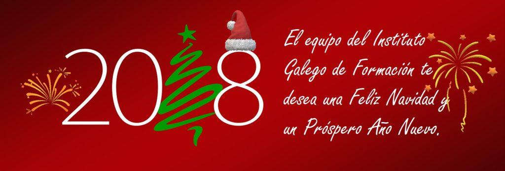 Feliz Navidad Instituto Galego de Formación