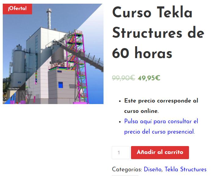 Oferta Tekla Structures